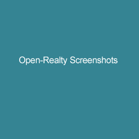 Open-Realty Screenshots